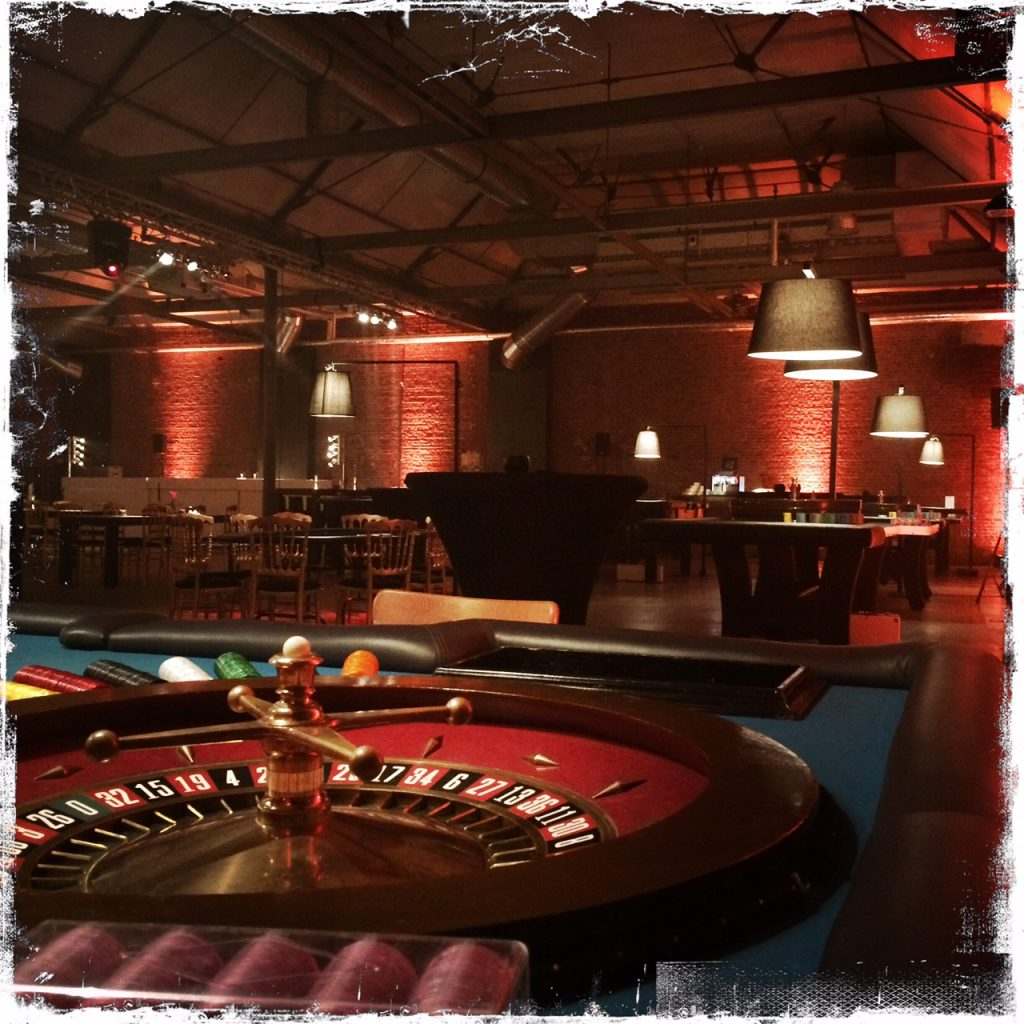 casino table hire jersey
